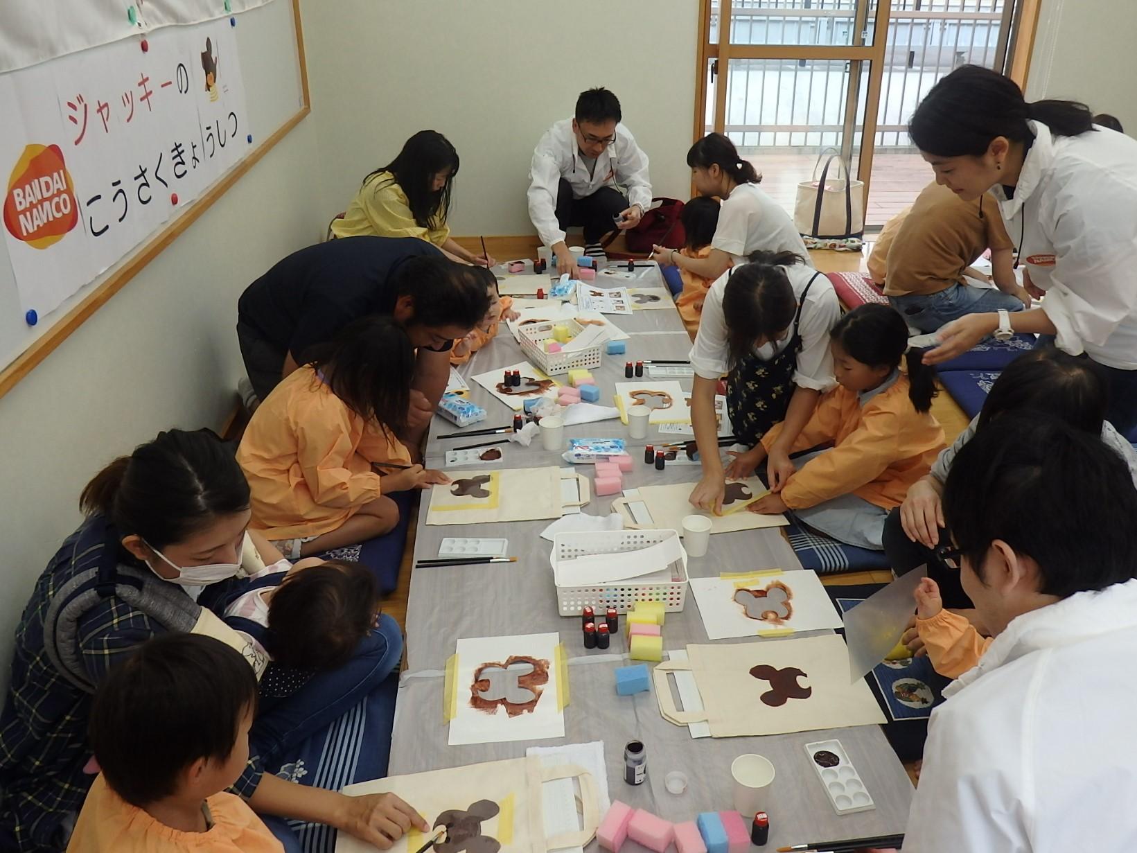 岩手県で東日本大震災被災地の子ども達向けのイベントを行いました