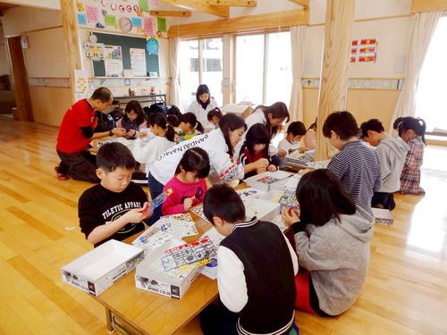 福島県で東日本大震災被災地の子ども達向けのイベントを行いました