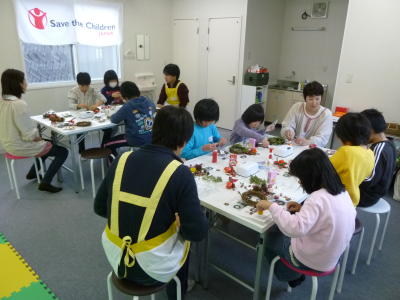 Event for Children at Rikuzentakada, Iwate Prefecture