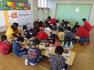宮城県石巻市で子ども達向けのイベントを実施しました。