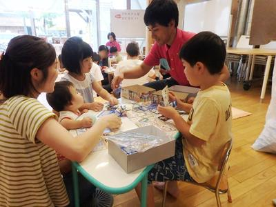 宮城県で東日本大震災被災地の子ども達向けのイベントを行いました