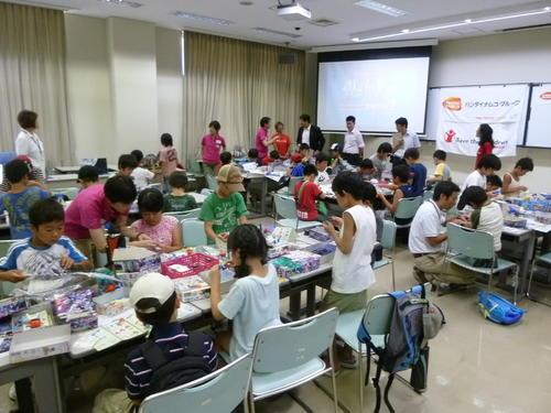 福島県で「プラモデル教室」を実施しました。